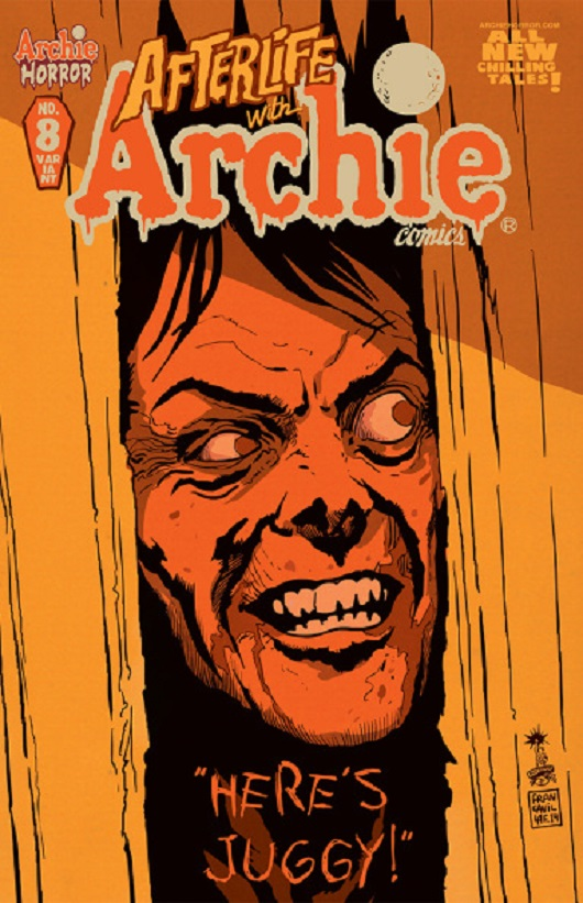Afterlife with Archie #8 by Francesco Francavilla