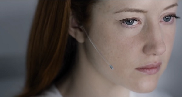 Andrea Riseborough in Oblivion