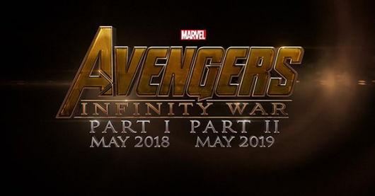 Avengers: Infinity War title card