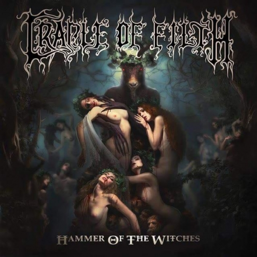 Cradle of Filth Hammer of the Witches Album Art