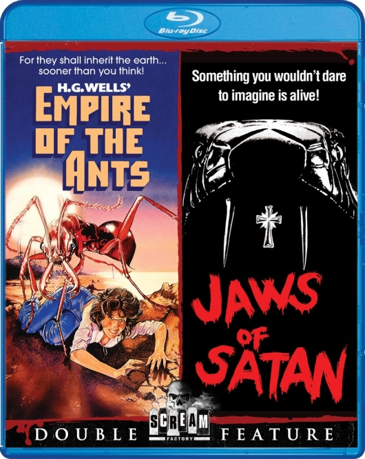 Empire of the Ants / Jaws of Satan Double Feature Blu-ray from Scream Factory