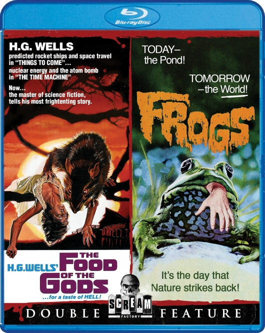 The Food of the Gods / Frogs Blu-ray Double Feature from Scream Factory