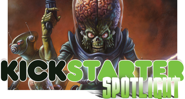Kickstarter Spotlight: Mars Attacks!