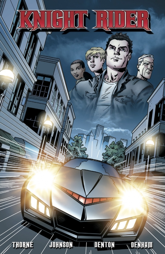Knight Rider, Vol. 1 cover