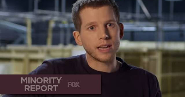 Minority Report: Stark Sands