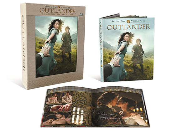 Outlander Season One Volume One Collector's Edition Blu-ray
