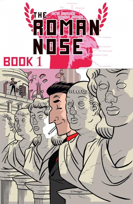 The Roman Nose Book 1 cover
