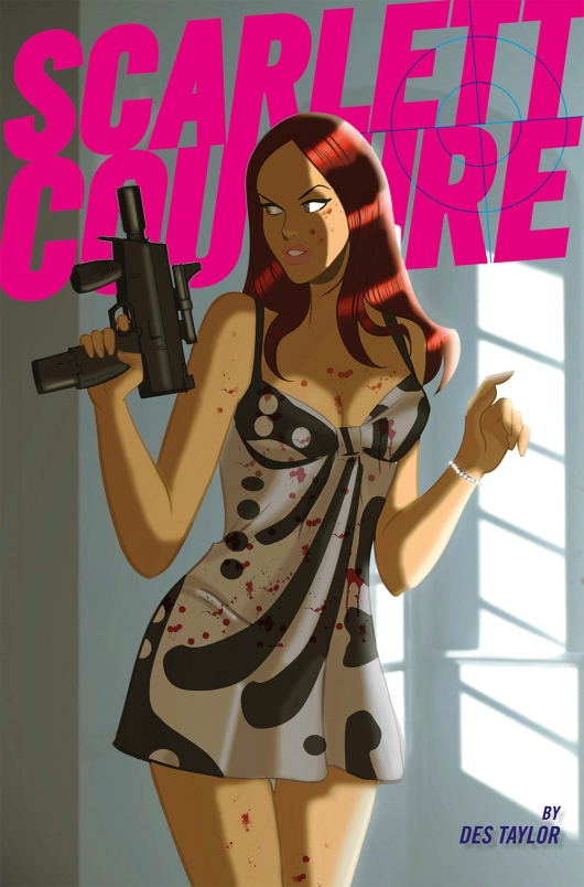 Scarlett Couture #2 cover