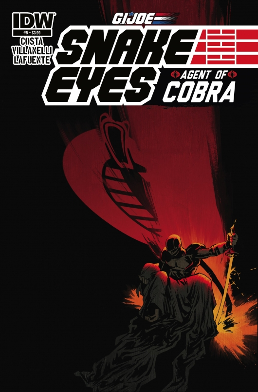 G.I. Joe: Snake Eyes: Agent of Cobra #5 cover