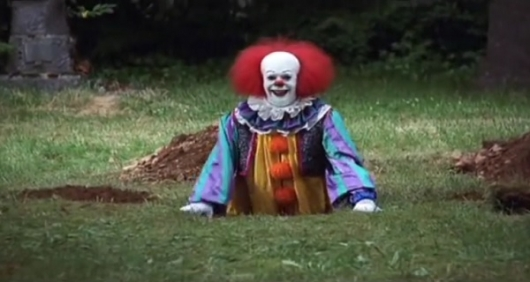 Pennywise in Stephen King's It