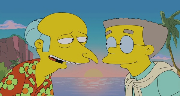 Harry Shearer Characters Mr. Burns and Smithers on The Simpsons