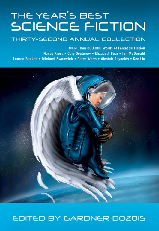 The Year's Best Science Fiction: Thirty-Second Annual Collection cover