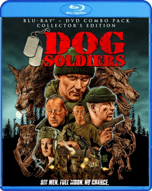 Dog Soldiers Blu-ray Cover Art by Scream Factory