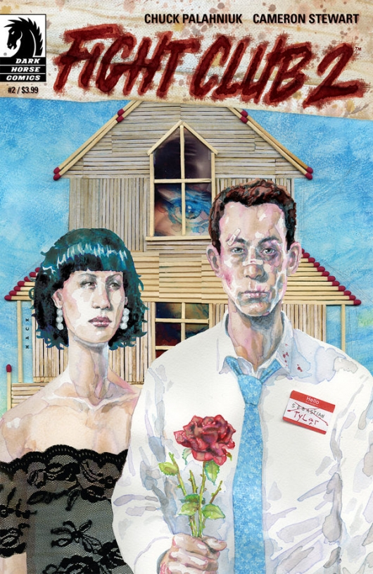 Fight Club 2 #2 cover
