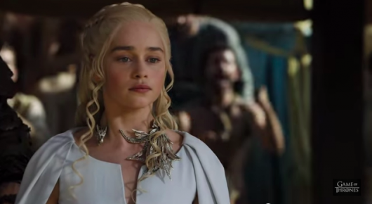 Game Of Thrones Episode 5.9 Daenerys Targaryen Emilia Clarke