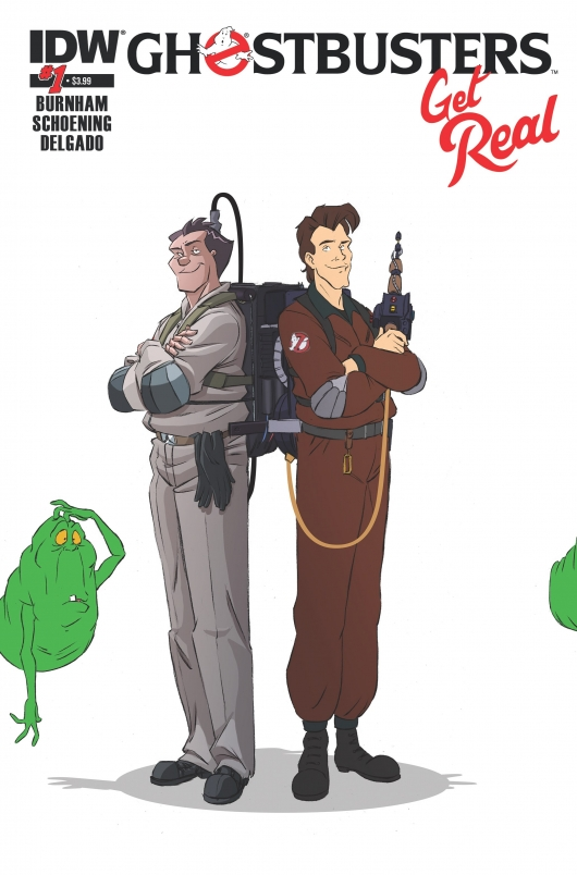 Ghostbusters: Get Real #1 cover
