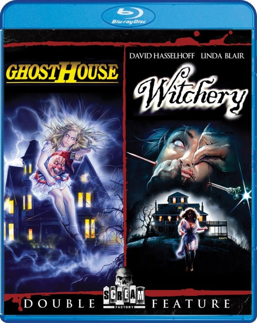 Ghosthouse / Witchery Double Feature Blu-Ray Review from Scream Factory