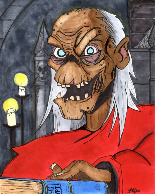 The HBO Show Crypt Keeper by Joey Amrao