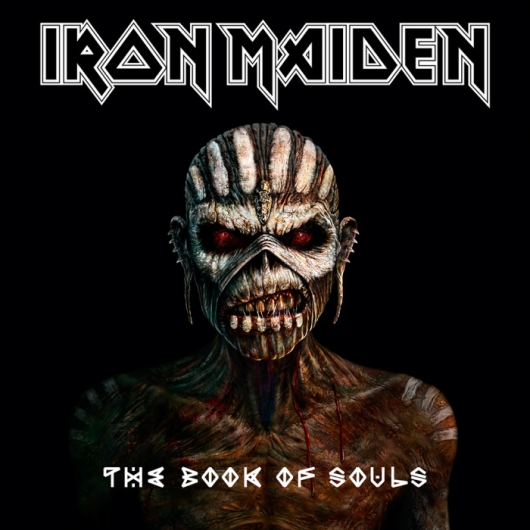 Iron Maiden The Book of Souls Album Cover