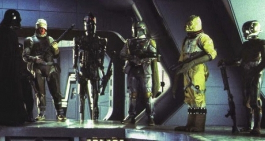 Star Wars Bounty Hunters Scene