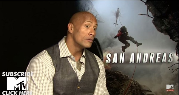 Dwayne Johnson talking Black Adam for MTV UK