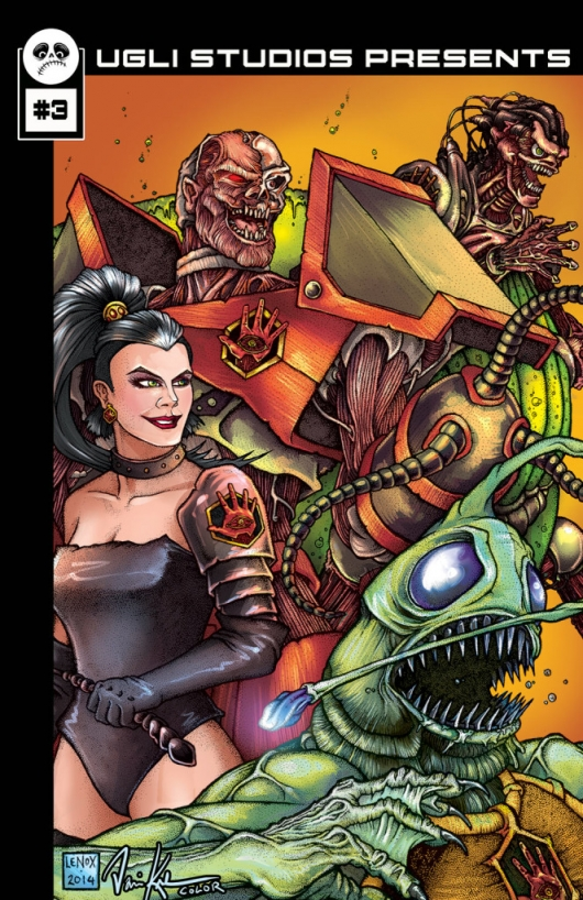 Ugli Studios Presents #3 cover