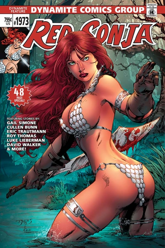 Red Sonja 1973 Ed Benes cover