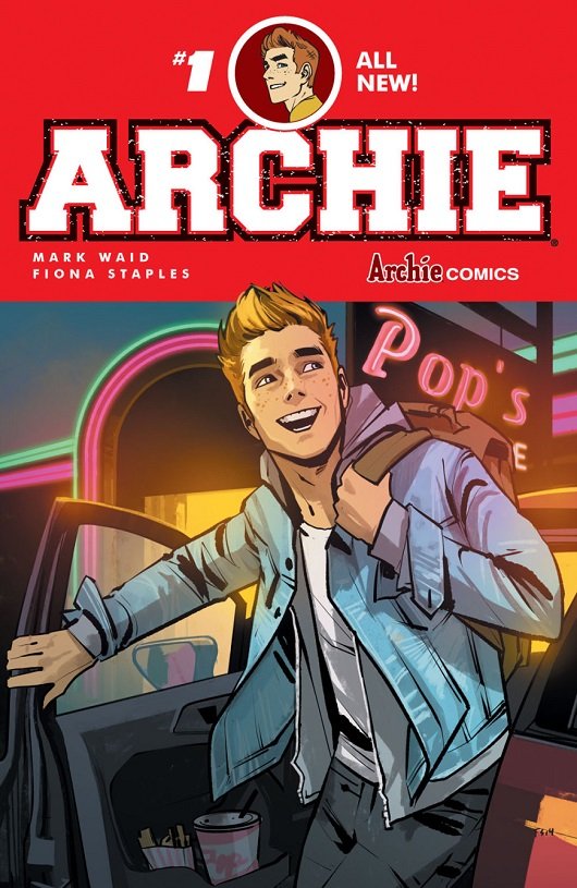 Archie #1 cover by Fiona Staples