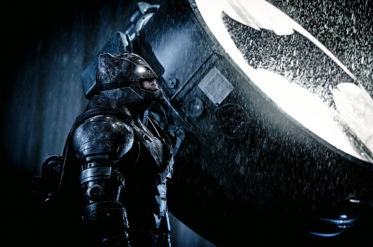 Batman v Superman Ben Affleck Bat Signal