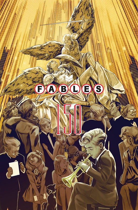 Fables 150 cover by Nimit Malavia
