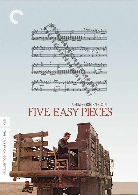 Five Easy Pieces Criterion Blu-ray