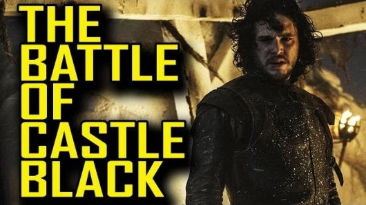 Real Fake History Game of Thrones The Battle of Castle Black