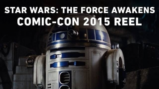 Star Wars The Force Awakens Comic-Con Reel 2015