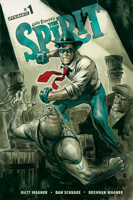 The Spirit #1 cover