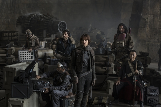 Star Wars Rogue One Cast Photo