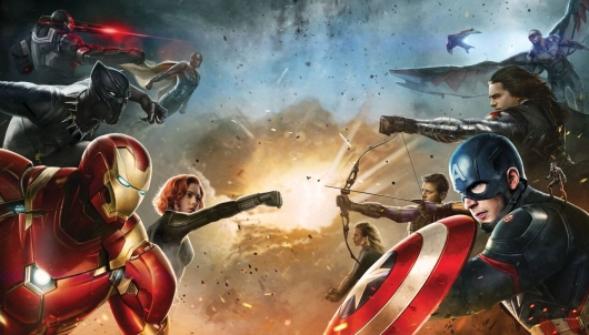 Captain America: Civil War Superhero Factions