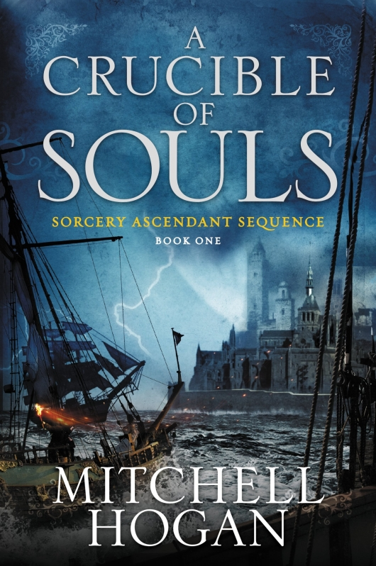 A Crucible Of Souls cover Mitchell Hogan