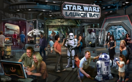 D23 Expo 2015: Star Wars Launch Bay