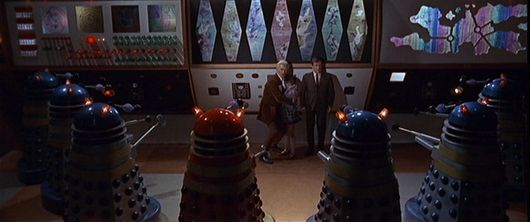 Dr. Who & The Daleks captured