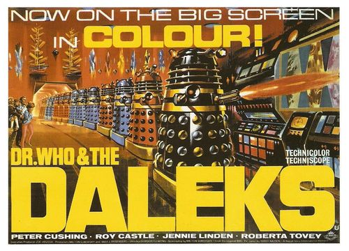 Dr. Who & The Daleks Poster