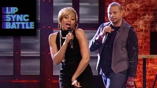 Lip Sync Battle Terrance Howard Taraji P. Henson