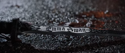 Once Upon A Time Dark Swan Knife