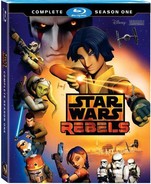 Star Wars Rebels Season 1 Blu-ray Edition cover