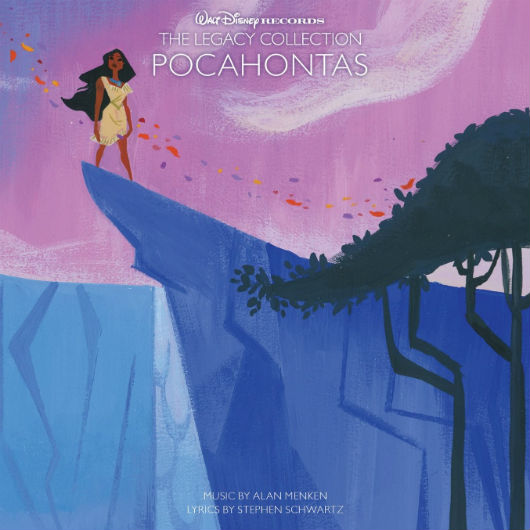 """The Legacy Collection: Pocahontas"" CD Cover"