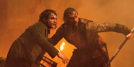 Victor Frankenstein Starring James McAvoy and Daniel Radcliffe