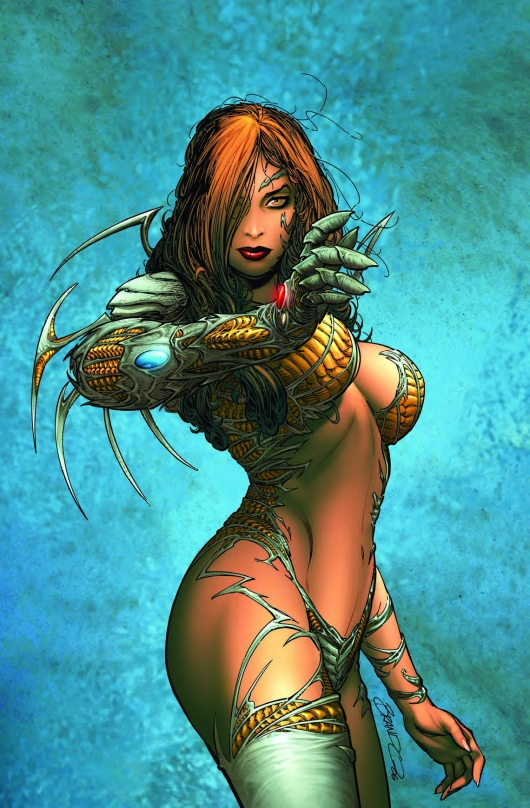 Witchblade #140, cover B