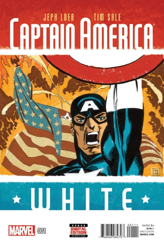 Captain America: White cover by Tim Sale