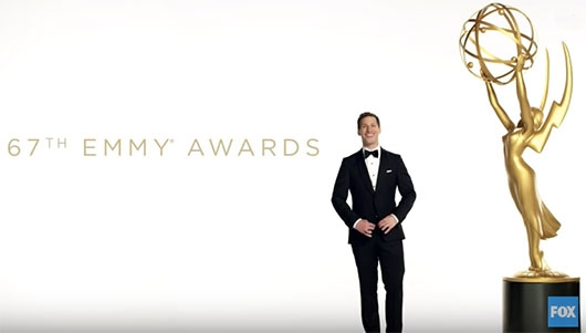 Emmy Awards 2015 Andy Samberg host