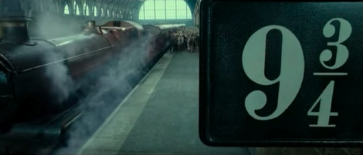 Harry Potter Platform 9 3/4 Epilogue