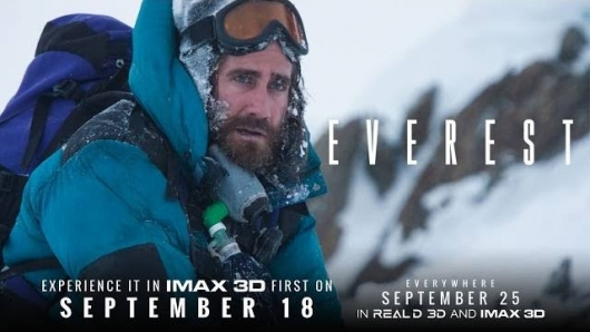 Jake Gyllenhaal Everest IMAX banner
